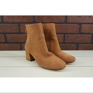 URBAN OUTFITTERS Harlow Brown Ankle Booties Size
